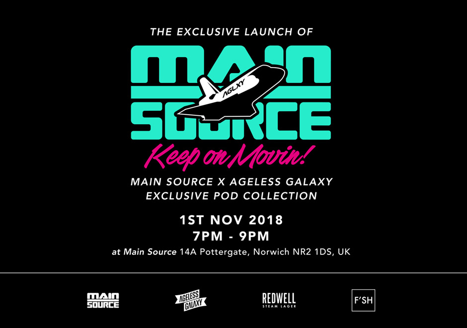 AGLXY x MAIN SOURCE LAUNCH