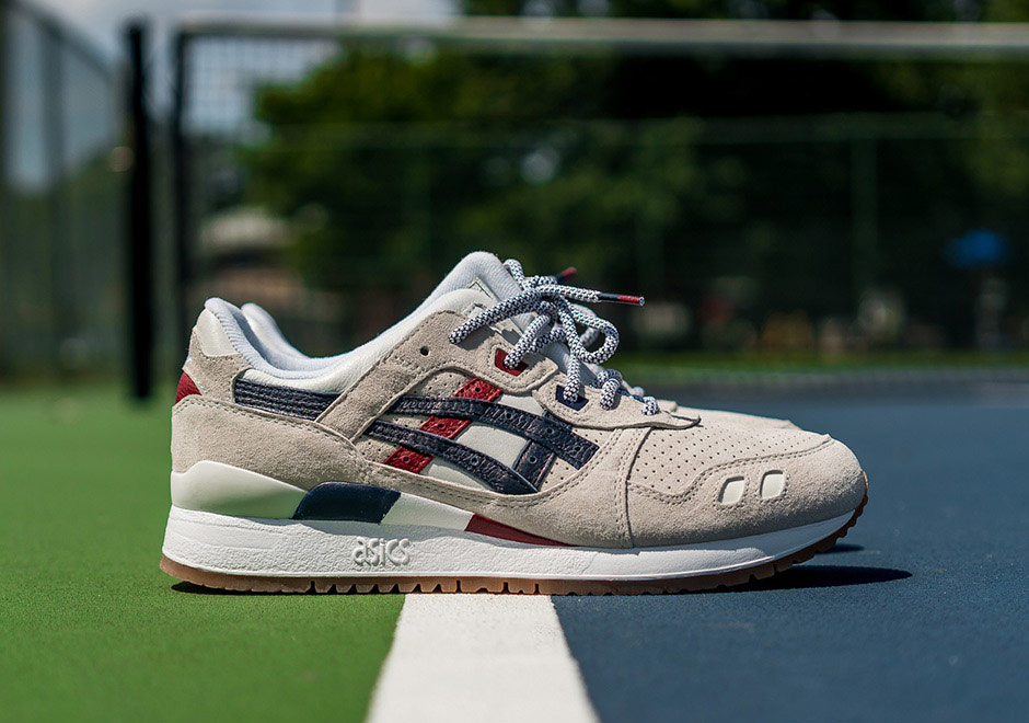 "Packer Shoes x Asics ""US OPEN"" Gel Lyte III"