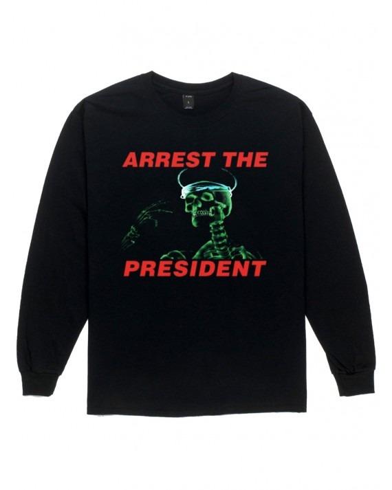10 Deep Arrest The President L/S T-Shirt - Black
