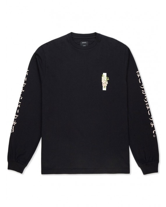 10 Deep Ashes to Ashes L/S T-Shirt - Black