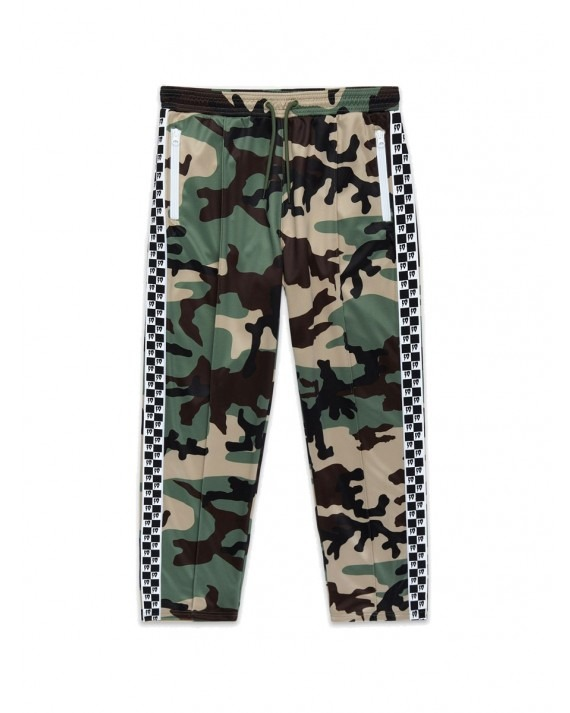 10 Deep Checkered Flag Track Pant - New Woodland Camo