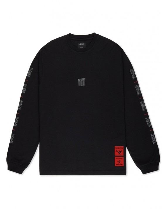 10 Deep Consumed L/S T-Shirt - Black