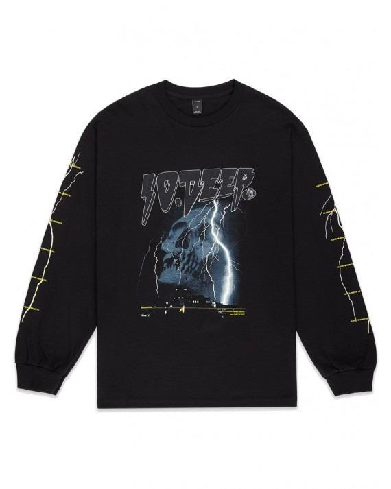 10 Deep Dystopia L/S T-Shirt - Black