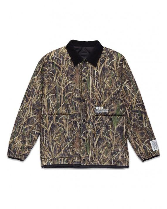 10 Deep Fragile Content Reversable Jacket - Black