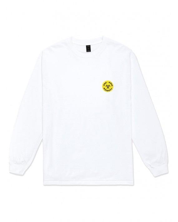 10 Deep High End Toxicity L/S T-Shirt - White