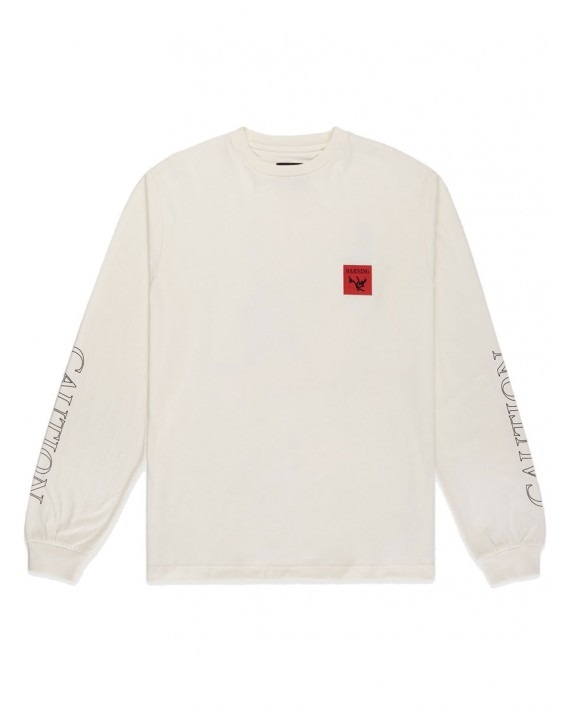 10 Deep In Spite Of It All L/S T-Shirt - Off White