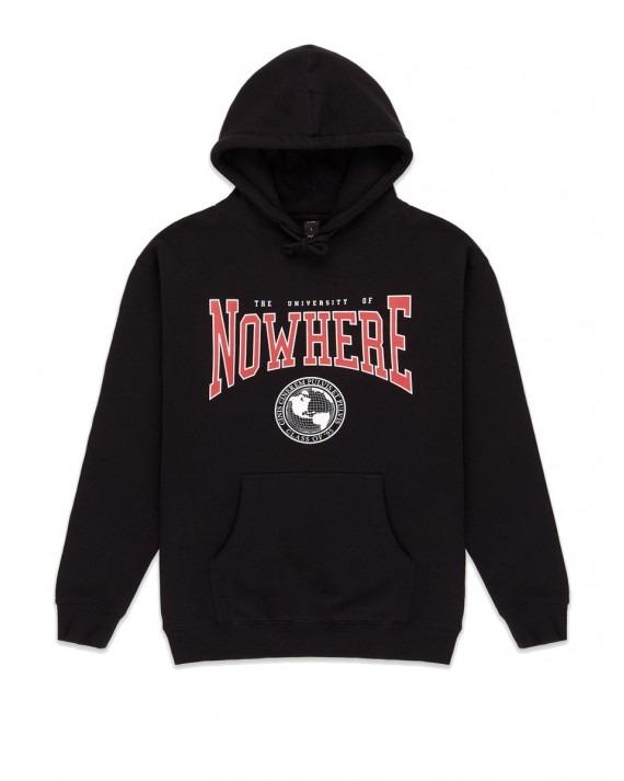 10 Deep Nowhere U Pullover Hoody - Black