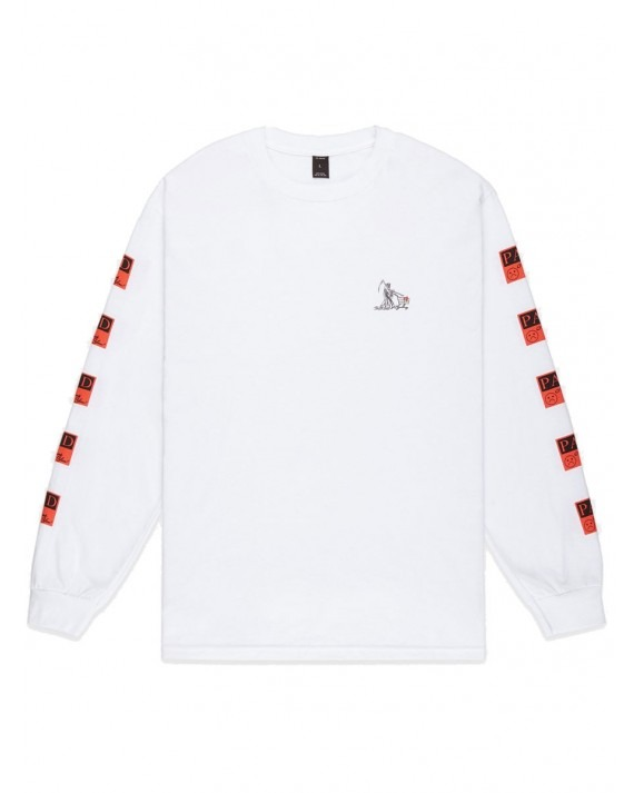 10 Deep Paid In Full L/S T-Shirt - White