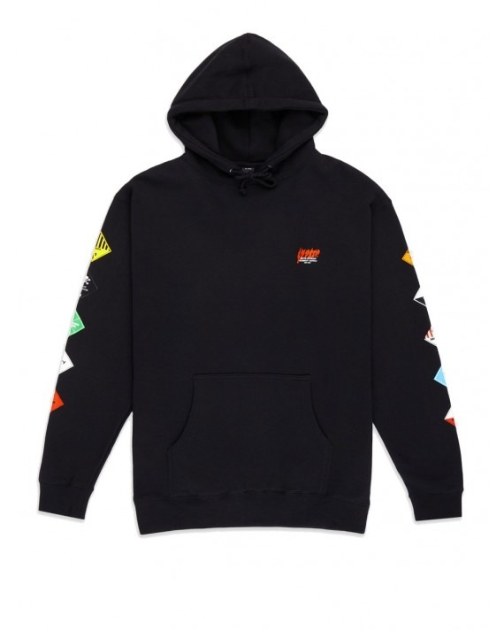 10 Deep Prohibited Pullover Hoody - Black