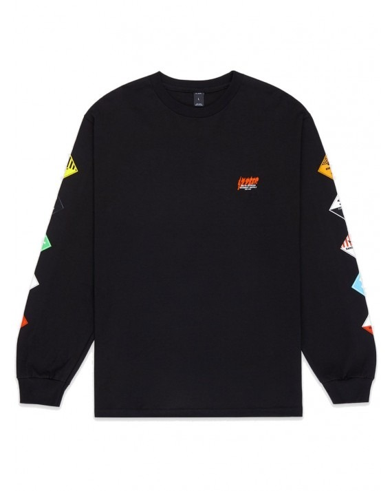 10 Deep Prohibited L/S T-Shirt - Black