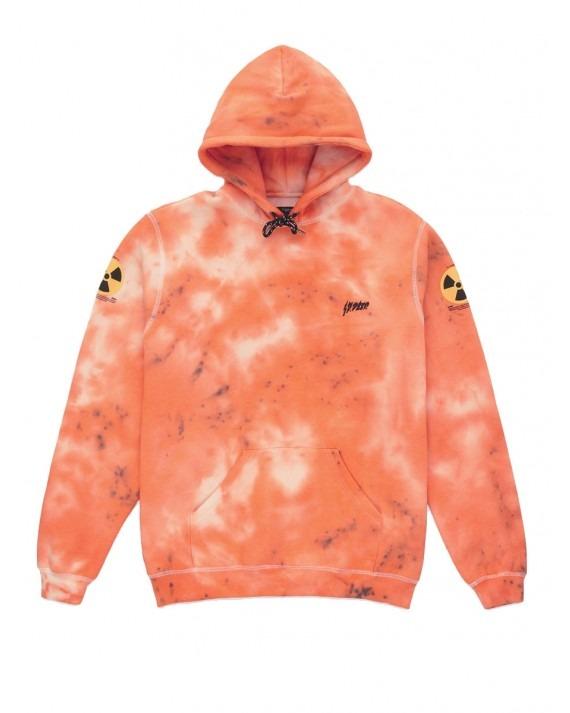 10 Deep Radiated Pullover Hoody - Orange