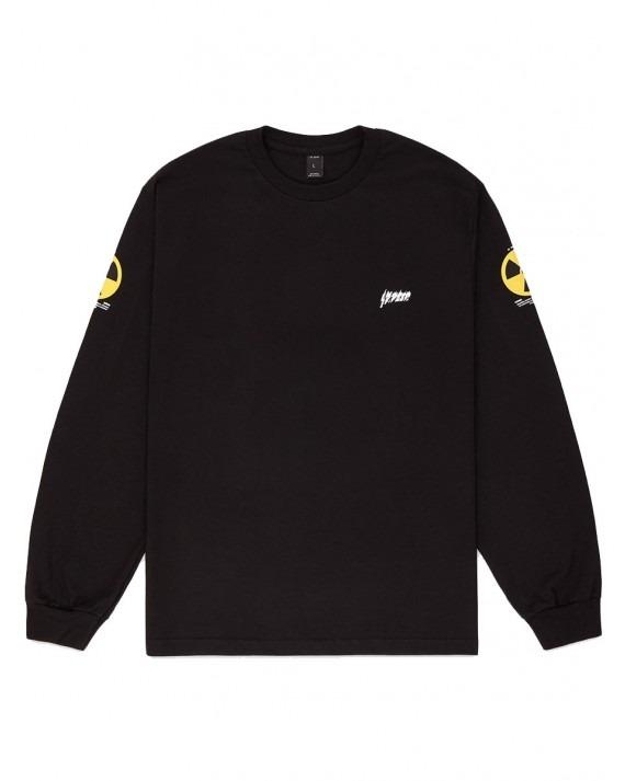 10 Deep Radiated L/S T-Shirt - Black