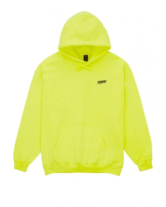 10 Deep Sound & Fury Pullover Hoody - Neon Yellow