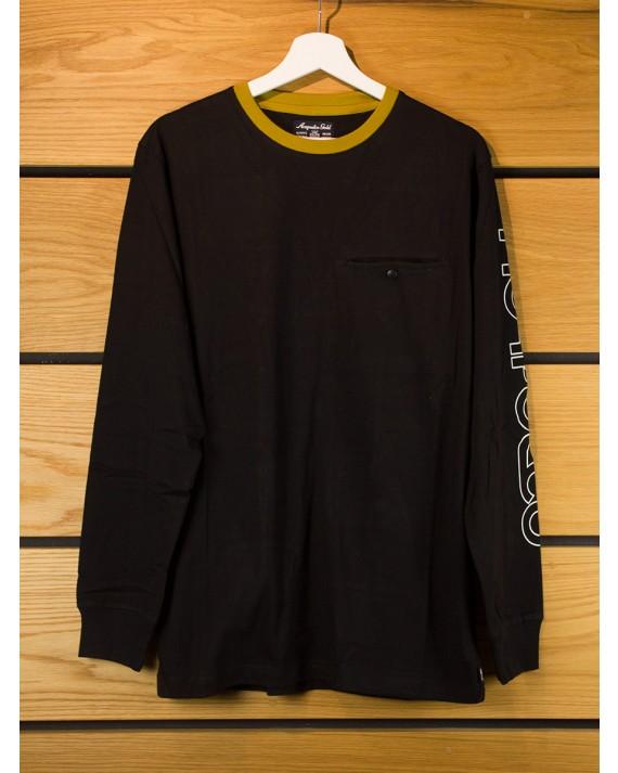 Acapulco Gold Alpine L S T Shirt Black