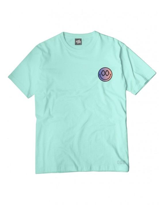 Ageless Galaxy Good Vibes Since Infinity T-Shirt - Mint Green
