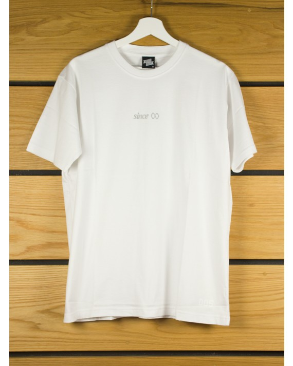 Ageless Galaxy Italic Runner T-Shirt - White