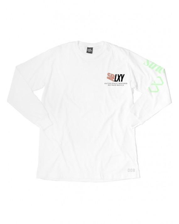 Ageless Galaxy Brown Mountain POD 008 L/S T-Shirt - White