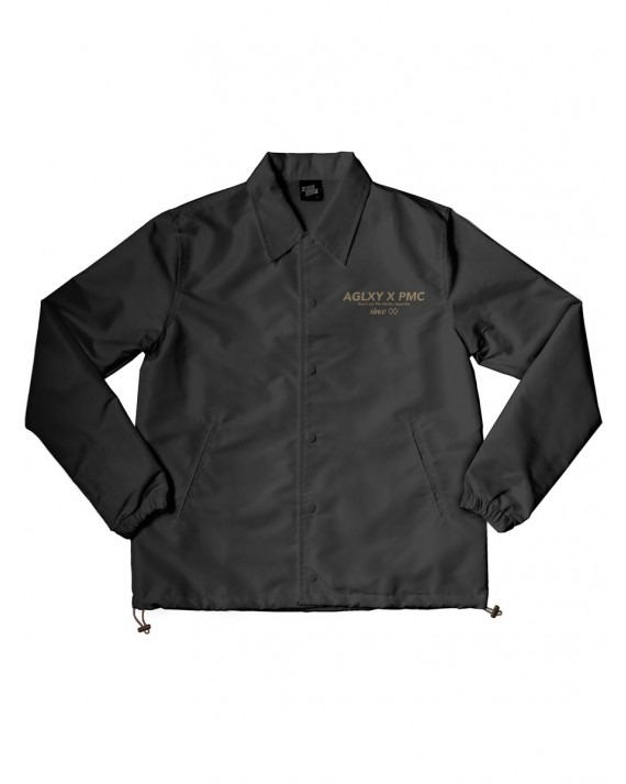 Ageless Galaxy x PMC Don't Let The Straights Separate Coach Jacket - Black