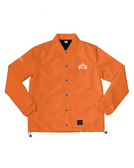 Ageless Galaxy Whatever It Takes POD 008 Coach Jacket - Orange