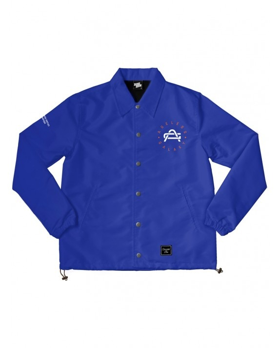 Ageless Galaxy Whatever It Takes POD 008 Coach Jacket - Royal Blue