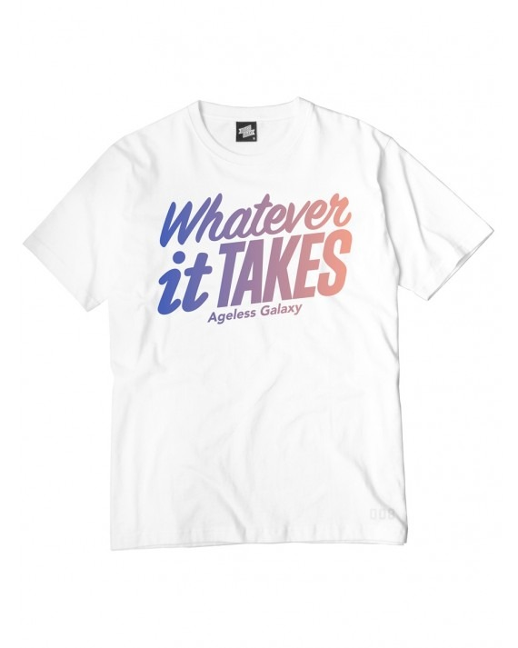 Ageless Galaxy Whatever It Takes T-Shirt - White