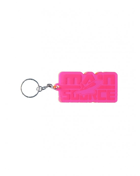 Ageless Galaxy x Main Source Keep on Movin! Key Chain - Hot Pink