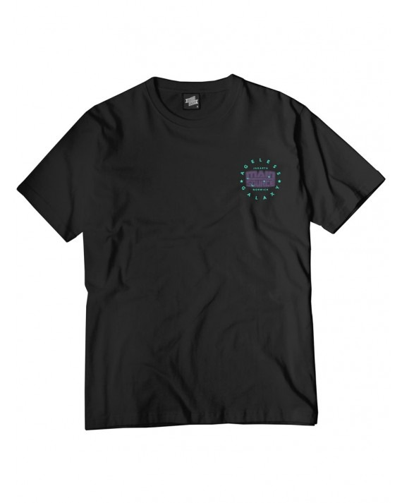 Ageless Galaxy x Main Source Planet Main Source T-Shirt - Black
