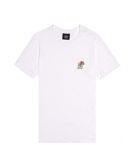 Belief Bouquet T-Shirt - White