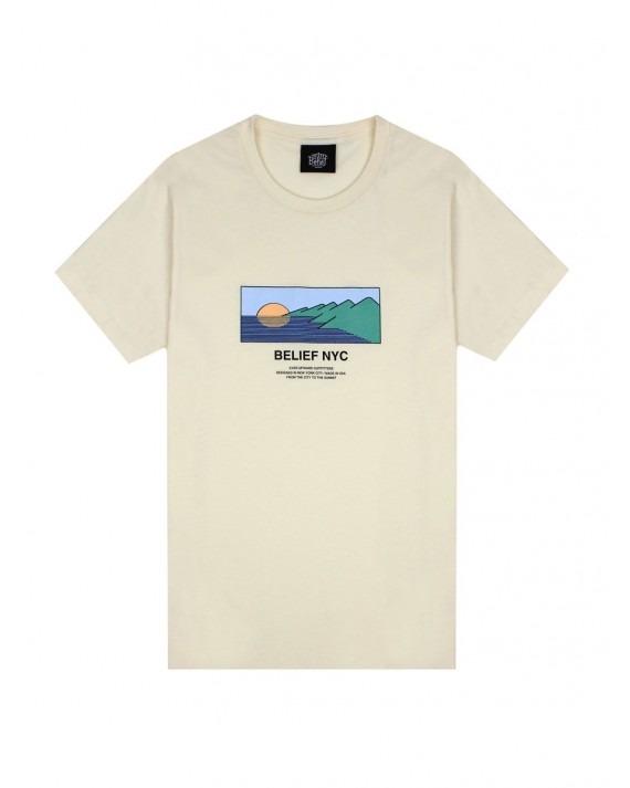 Belief Horizon T-Shirt - Natural
