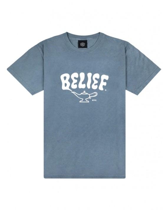 Belief Lamp T-Shirt - Ice Blue