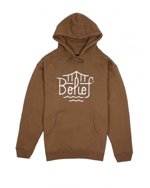 Belief Triboro Pullover Hoody - Saddle