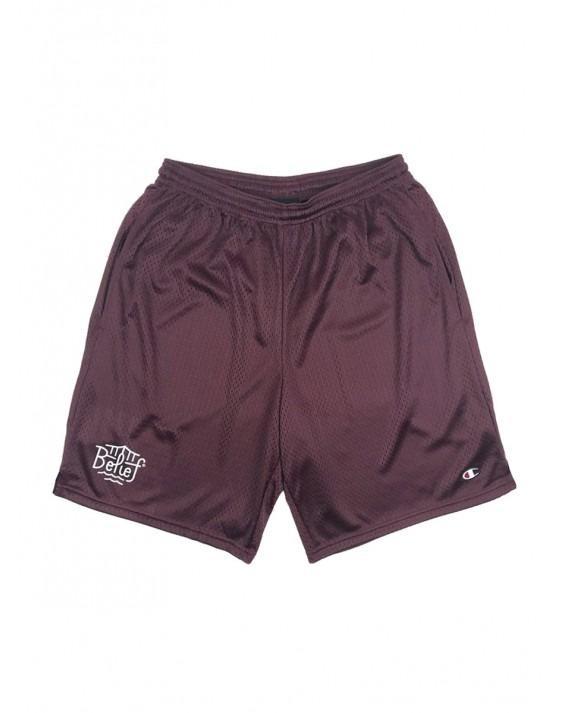 Belief Triboro Champion Mesh Shorts - Burgundy