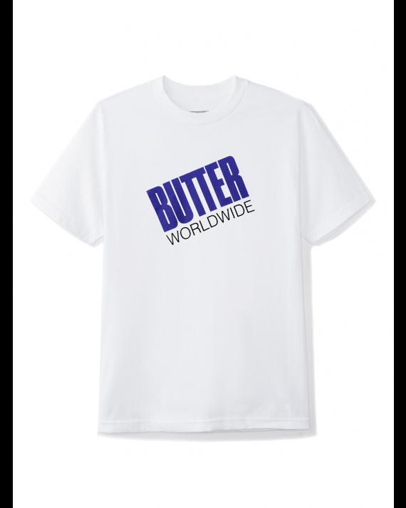 Butter Goods Tilt Logo T-Shirt - White