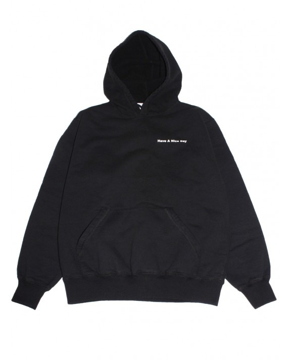 Canal New York Thank You Pullover Hoody - Black