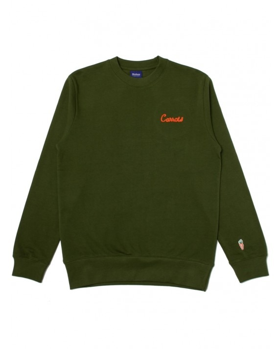 Carrots Cursive Crewneck - Green