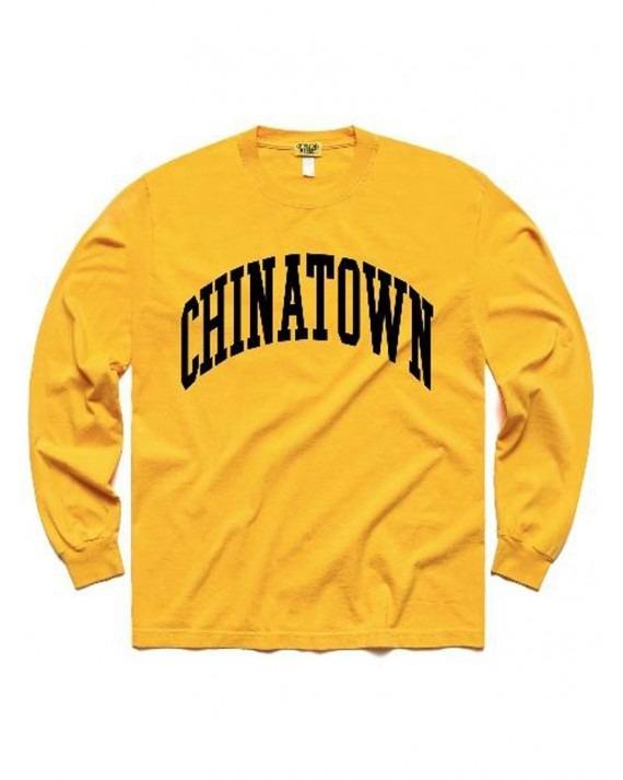 Chinatown Market ARC L/S T-Shirt - Yellow