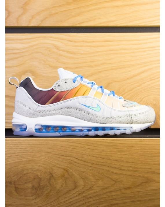 "Nike Air Max 98 On Air GS ""La Mezcla"" - Vast Grey Electro Green"