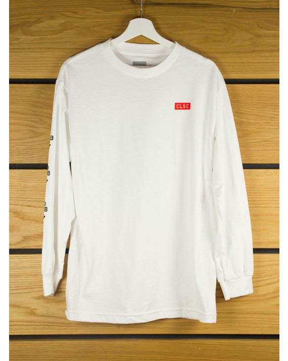 Clsc Business Long Sleeve T Shirt White