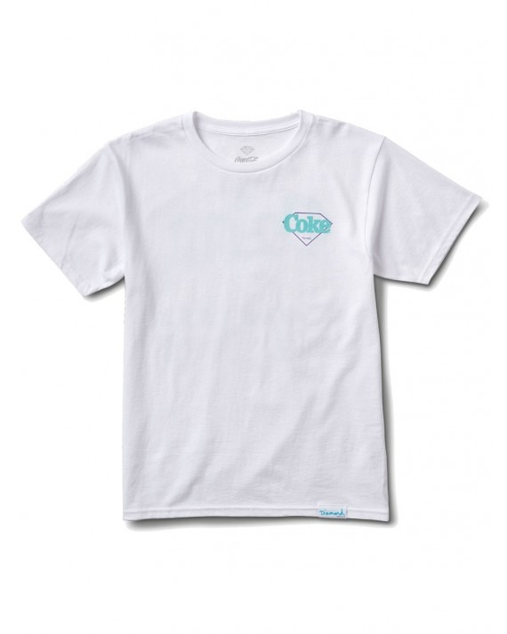 Diamond Supply Co x Coca Cola The Real Thing T-Shirt - White