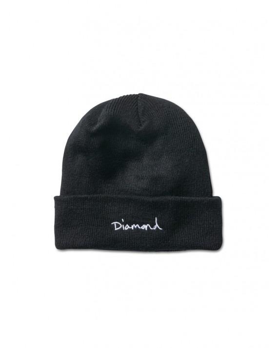 Diamond Supply OG Script Beanie - Black