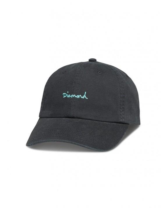 Diamond Supply OG Script Sports Hat - Black
