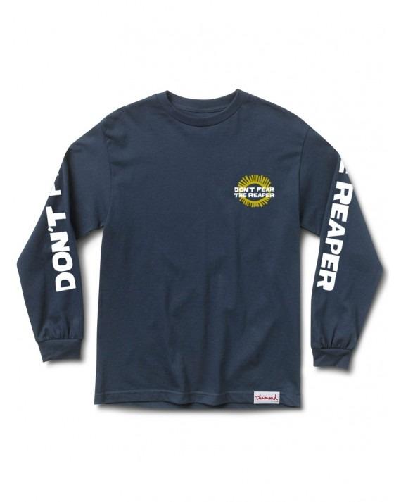 Diamond Supply Reaper L/S T-Shirt - Navy