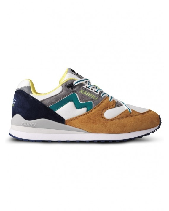 """Karhu Synchron Classic """"Catch Of The Day Pack"""" - Buckthorn Brown Ocean Depths"""
