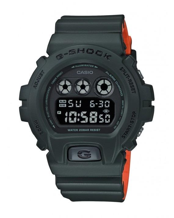 G-SHOCK Stealth DW-6900LU-1ER - Green Orange