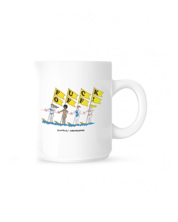 Good Worth & Co x Luke Pelletier Fuck Off Coffee Mug