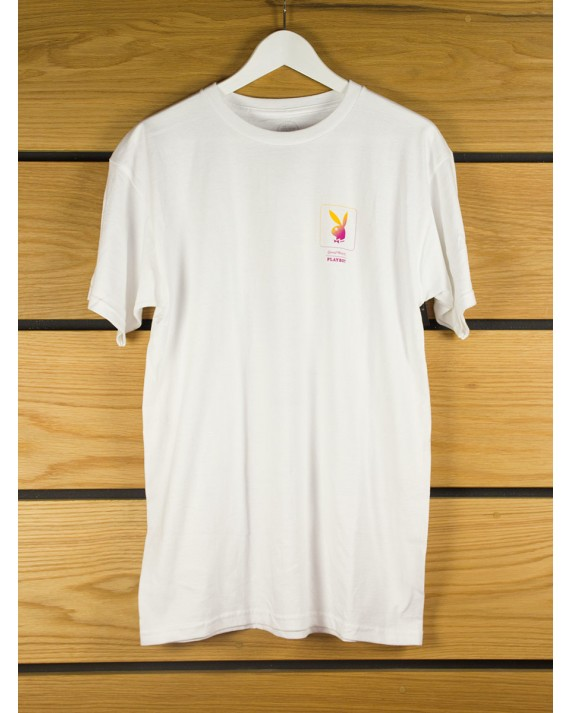Good Worth & Co x Playboy Gradient Bunny T-shirt - White