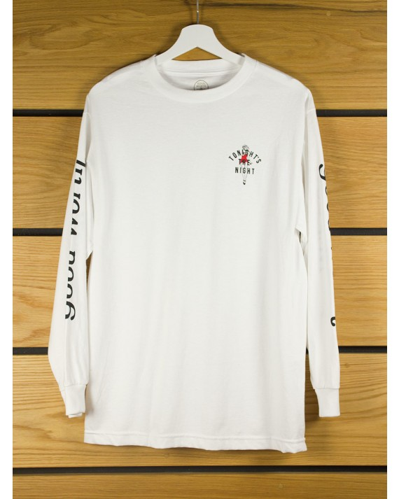 Good worth co tonight long sleeve t shirt white for Good white t shirts