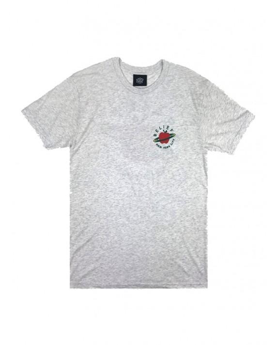 Belief City Space T-Shirt - Ash Heather