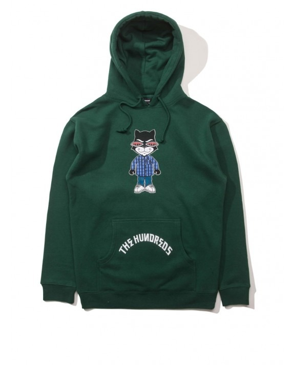The Hundreds x Mr Cartoon Bronson Pullover - Dark Green