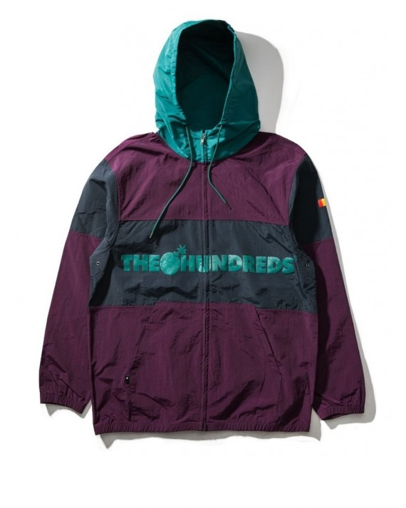 The Hundreds Port Jacket - Eggplant